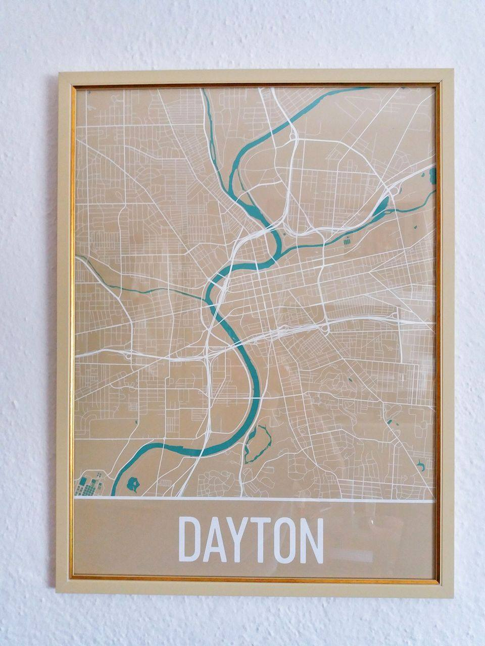 Printart_map_of_Daytona_Beach