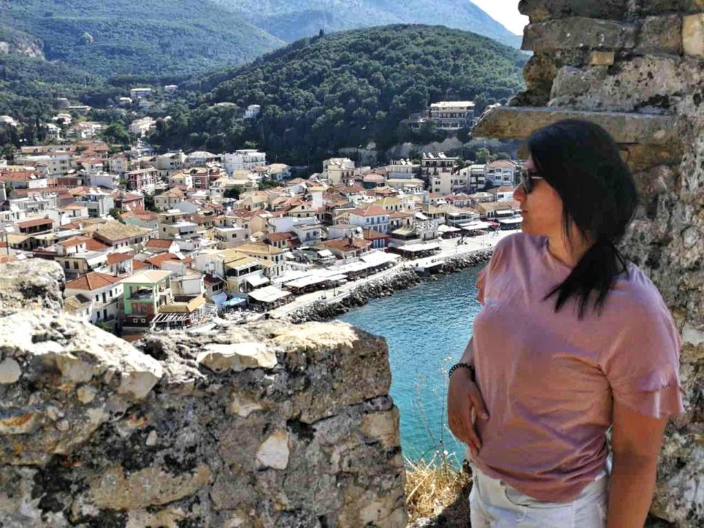 Parga_castle_View