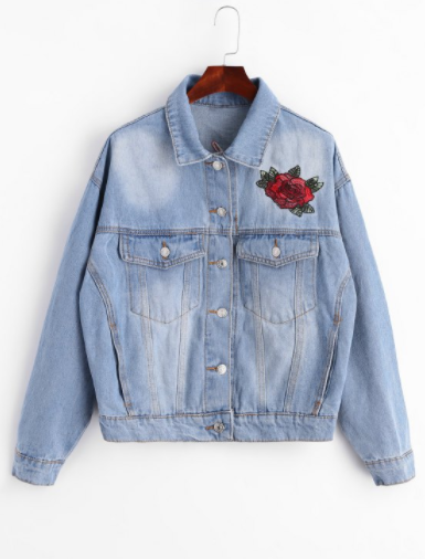 zaful_denim_jacket_embroided_review