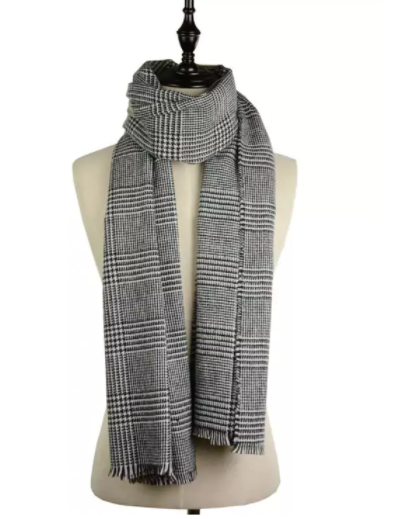 black_white_scarf_zaful_review