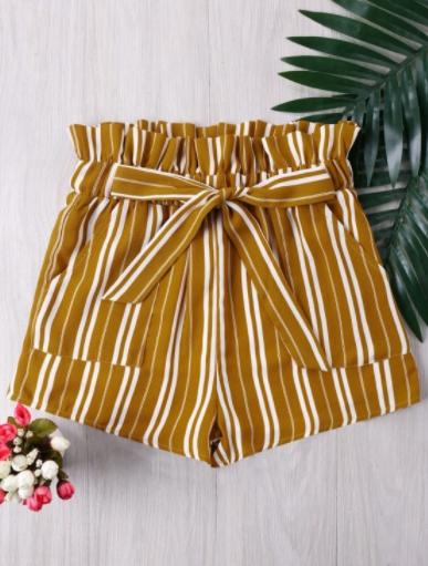 yellow_stripes_shorts_zaful