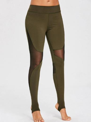 zaful_activewear_army_green_leggings