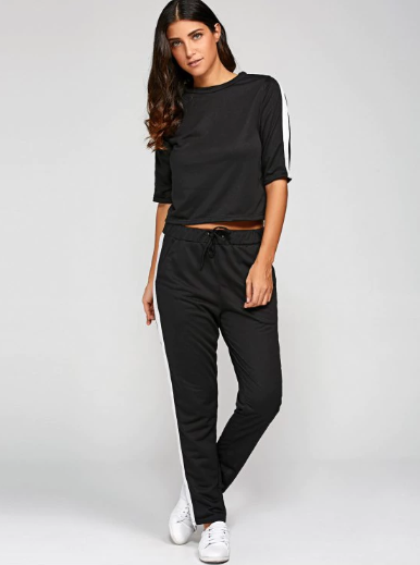 zaful_activewear_black_pants_top