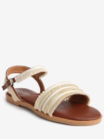 beige_flat_sandals_Zaful