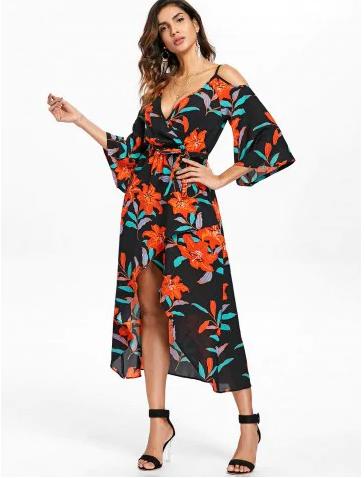 coldsholder_floral_midi_summer_dress_rosegal