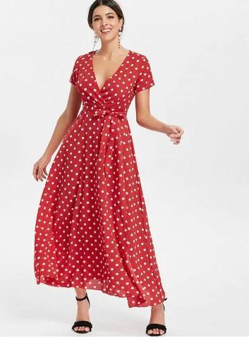 red_polkadots_maxi_summer_dress_rosegal