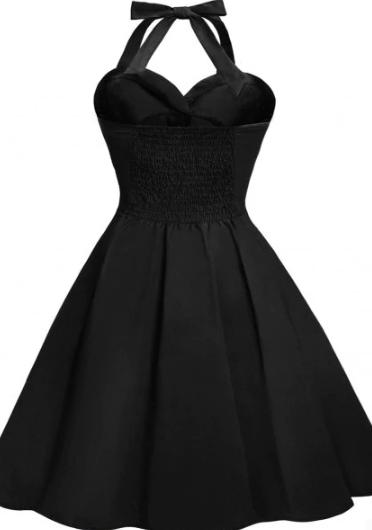 black_vintage_dress_backless