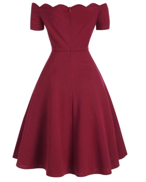burgundy_retrodress_dresslily_back