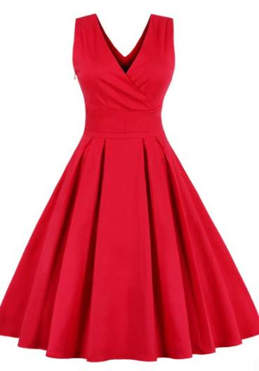 retro_sleveless_reddress_dresslily_front