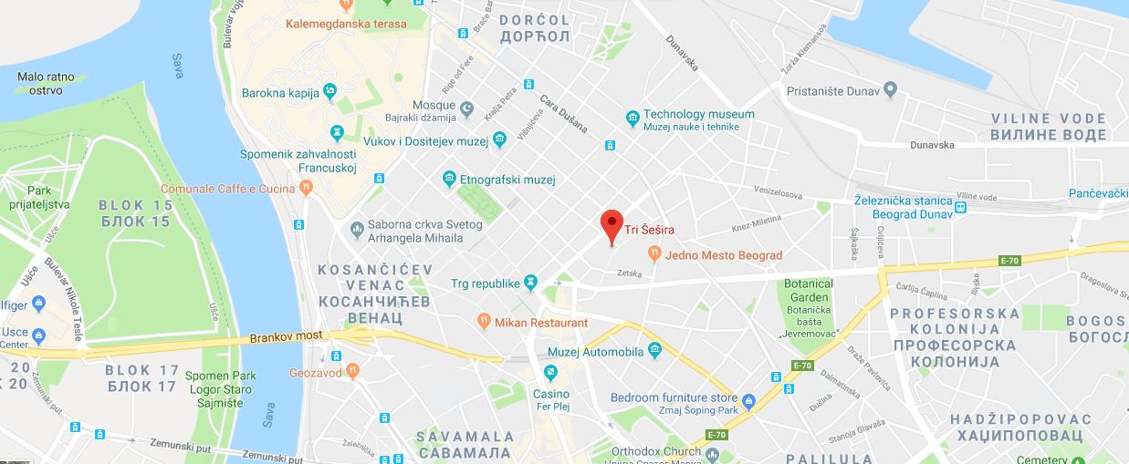 trisesira_threehats_map_belgrade_beograd