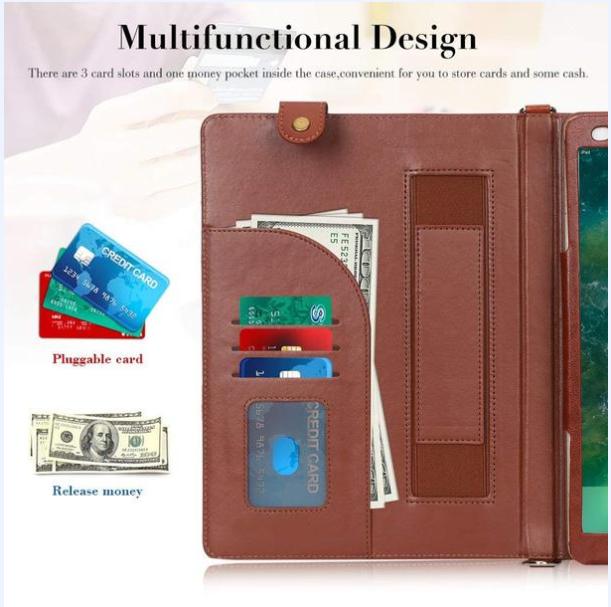 FYY_tablet_Ipadair_cover_case_brown_multifunctionaldesign